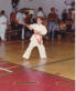 Kelly 1985 AAU Karate Champion